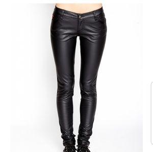 Faux leather TRIPP pants